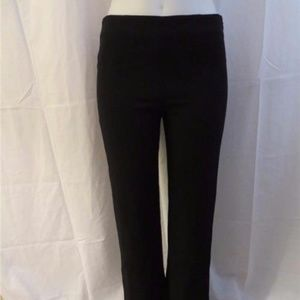 a800503310ed Valentino Pants - VALENTINO BLACK CASUAL PANT W SIDE ZIP 6